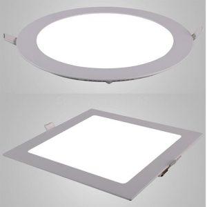 LED ugradni paneli 24W okrugli i kockasti