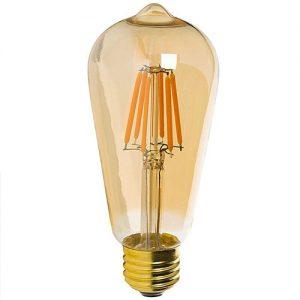 LED E27 ST64 4W 2700K
