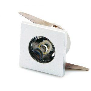 1W LED mini modul kvadratni i okrugli