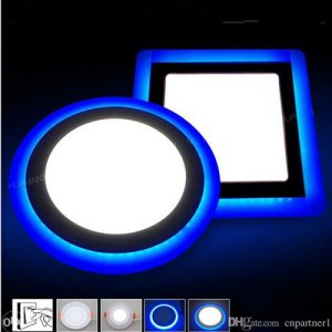 LED panel sa plavim okvirom
