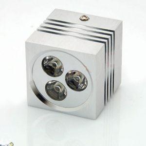 LED nadgradni modul 3W kvadratni