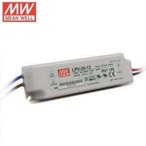 Napajanje Meanwell LPV – 20W – 12V IP67