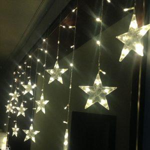 LED ledenice sa zvijezdama