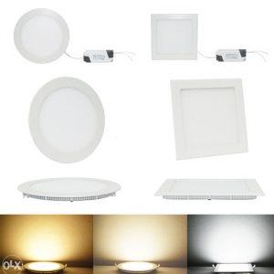 LED ugradni paneli 3W