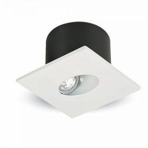 Ugradna zidna dekorativna LED lampa 3W